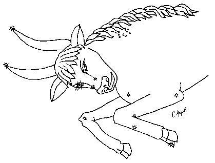 Das sternbild des monats stier
