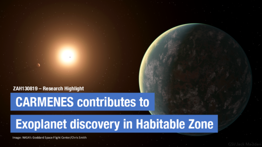 CARMENES contributes to confirmation of earth-size planet